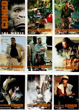 1995 CONGO THE MOVIE COMPLETE BASIC TRADING CARD SET