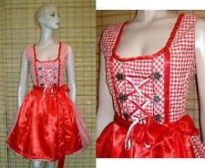 Ärmellose wadenlange Damen-Trachtenkleider & -Dirndl aus Polyester mit