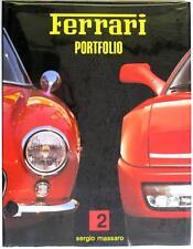 FERRARI PORTFOLIO 2 SERGIO MASSARO CAR BOOK