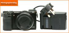 Sony NEX-7 Ultra Compact Camera body Battery,Charger 8,435 Shots Free UK PP