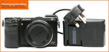 Sony NEX-7 Ultra Compact Appareil Photo batterie, chargeur de 8,435 coups Gratuit RU pp