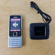 Nokia 6300 Mobile Phone Silber Virgin-sehr guter Zustand
