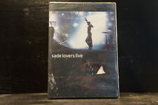Sade - Lovers Live (DVD, still sealed)