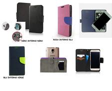 UNIVERSALE Custodia per HTC DESIRE 10 PRO / HTC One X9 Cover flip LIBRO STAND