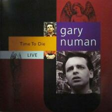 Gary Numan(CD Album)Time To Die Live-Receiver-RRCD223-UK-1996-New