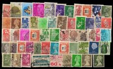 WORLD WIDE-100 Different Foreign Countries Stamps-Large & Small