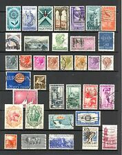 Italy mixed stamps incl. Heinkel Radio, Sailing, Independence, good/fine used