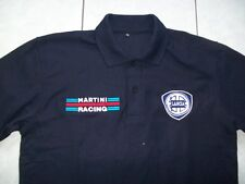 NUOVO LANCIA MARTINI RACING fan POLO POLO SHIRT BLOUSE Camisa Chemise Camicia