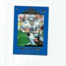 Troy Aikman Blue 1999 Playoff Absolute SSD #26