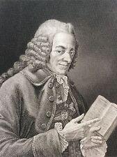 Voltaire François-Marie Arouet (1694-1778) portrait XIXe Philosophe