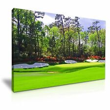 Augusta National Golf Club Amen Corner LONA pared arte Foto impresión 76x50cm