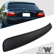 Matte Black  BMW 7-Series E38 A TYPE Rear Window Roof Spoiler 95-01