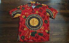 Vintage polo ralph lauren stadium  92 indian p wing ski bear casino shirt sz M