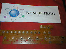 Technics RJB0816AC Button  Board For Model SA-GX130