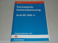 Werkstatthandbuch Audi Karosserie Instandsetzung 80 B4 ab 1992