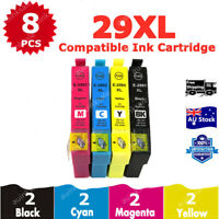8X Non-OEM 29XL  T2991 Ink Cartridge For Epson XP 235 332 335 432 435 245