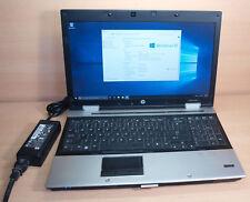 HP EliteBook 8540p 15.6in Notebook Intel Core i5 2.53GHz 4GB 250GB Windows 10