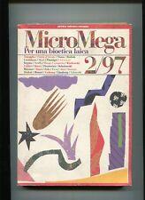 MICROMEGA 2/97 PER UNA BIOETICA LAICA Libro Travaglio Rodotà Fabbri