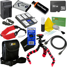 11pc Accessory Kit for Sony HDR-AS20, HDR-AS30V, HDR-AS200, & HDR-AS15