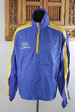 Vtg 1983 NIKE Vancouver Marathon Race Committee Pullover Windbreaker Orange Tag