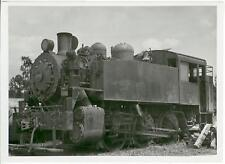 1955 Fitzgerald Louisiana Amite Gravel Co Railroad Engine 5015 photograph 5 x 7