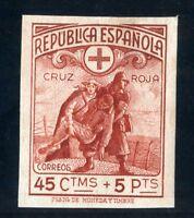 SELLOS DE ESPAÑA 1938 Nº 767 SIN DENTAR CRUZ ROJA ESPAÑOLA NUEVO