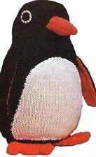 Pingu Penguin  toy knitting pattern