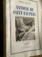Pierre Chevrier. Antoine De Saint-Exupéry. 1949.