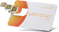 Upfront Mobile Gps Tracker Sim Card 150Mb and At&T-Mobile Us + Coverage