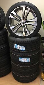 20 inch winter wheels 468 style + tyres for BMW X5 X6 E70 E71 F15 F16