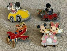 Disney Travel Company Pins Lot of 4- Minnie, Mickey, & Goofy