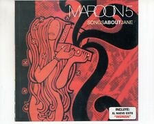 CD MAROON 5	songs about jane	RARE HIP-O 	VG++ (B4575)