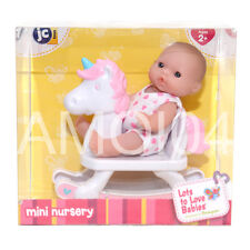 Berenguer Baby Doll Mini Nursery on Rocking Horse Lots to Love Babies New
