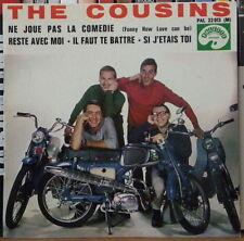 "THE COUSINS NE JOUE PAS LA COMEDIE MOTOCYCLE COVER 45t 7"" FRENCH EP"