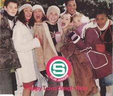 S Club Juniors – Puppy Love / Sleigh Ride. CD Single
