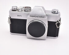 Mamiya/Sekor Silver 500 TL 35mm SLR Film Camera Body with M42 Body Cap (#4652)