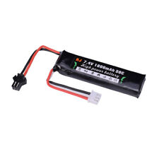 Juguetes de pistola de agua de alta potencia 7.4V 1800mAh RC Lipo Batería Recargable + Cable