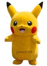 japanese mascot costume Pikachu Mascot Costume Fancy Dress Outfit Pikachu Mascot