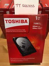 "Brand New Toshiba HDWD110XZSTA 1TB 7200rpm SATA III 3.5"" - Retail Box!"