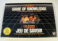 Rare Sealed Game of Knowledge 1987 Playtoy Industries IQ 2000 Vintage