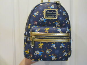 2021 Walt Disney World Parks 50th Celebration Collection Loungefly Backpack