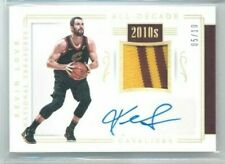 17/18 Panini National Treasures Kevin Love All-Decade Gold Patch Auto #'ed 05/10