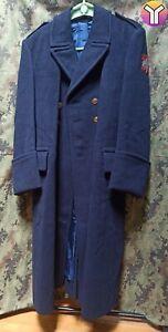 JRM Yugoslav Navy greatcoat OFFICER PARADE trench coat MINT CONDITION!!!