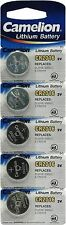 5 X BUTTON CELL COIN BATTERY 2016 CR2016 DL2016 BR2016 SB-T11 5000LC