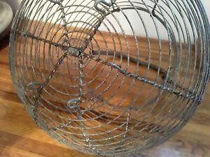 ANTIQUE Egg Gathering Basket