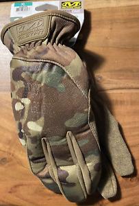 Mechanix Wear FastFit tactical GLOVES multicam camo camouflage size XL mens 11