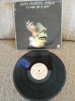 """JOAN MANUEL SERRAT LA MUJER QUE YO QUIERO LP VINILO 12"""" 1977 SPANISH ED G+/VG"""