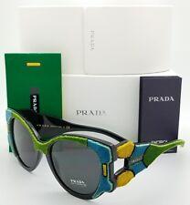 6d3dd297147c New Prada sunglasses PR10US I8A5S0 Green Felt Fashion Fuzzy Fur PR 10 US  GENUINE