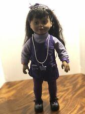 "Vntg Playmates 1999Amazing Ally Brunette. 18"" Doll. It Works! Aaa batt. ���"