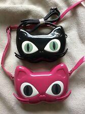 Cute Anime Cat Shell Bag Handbag Pink Black Kawaii